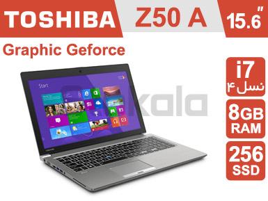 لپ تاپ Toshiba Z50-A استوک i7 نسل چهار 15.6 اینچی