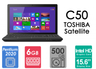 لپ تاپ ریفر Toshiba Satellite C50