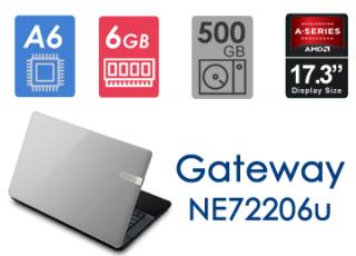 لپ تاپ ریفر  Gateway NE72206u