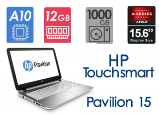 لپ تاپ ریفر HP Pavilion 15 Touch Smart