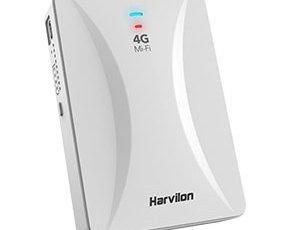 مودم 4G همراه Wifi-Lan-PowerBank) Harvilion)