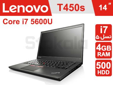 لپ تاپ Lenovo ThinkPad T450s پردازنده i7 نسل پنج