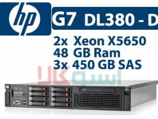 سرور  اچ پی HP G7 DL380-D دست دوم