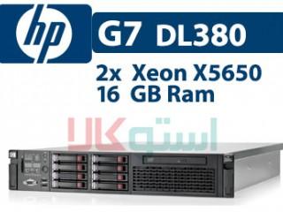سرور اچ پی HP DL380 G7 کانفیگ پایه