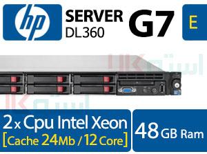 سرور دست دوم اچ پی HP G7 DL360 کانفیگ E
