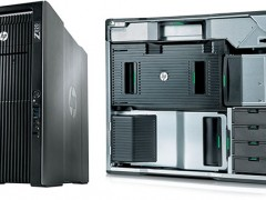 کیس HP Workstation Z820 با دو پردازنده Intel Xeon