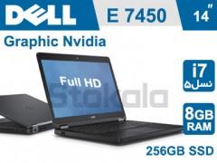 لپ تاپ Dell Latitude E7450 استوک i7 نسل 5
