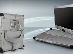 لپ تاپ Panasonic ToughBook CF C2 استوک صفحه چرخشی و لمسی
