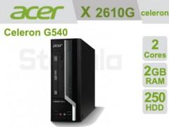 کیس استوک Acer Veriton X2610G پردازنده Celeron سایز مینی