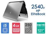 لپ تاپ استوک HP Elitebook 2540p پردازنده i5 نسل دو