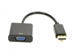 مبدل DisplayPort به VGA کیفیت Full HD و طول 14 سانتی متر