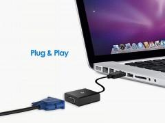 مبدل (کابل تبدیل) DisplayPort به VGA کیفیت Full HD و طول 14 سانتی متر