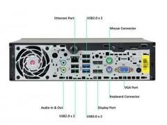 مینی کیس دست دوم HP 800 G1 پردازنده i5 نسل 4 سایز مینی