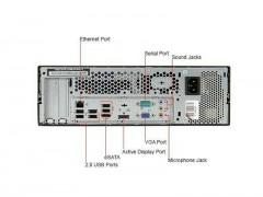 مینی کیس استوک Lenovo ThinkCentre M58 پردازنده C2D سایز مینی