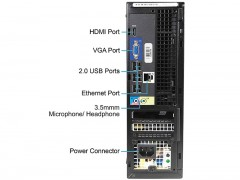 کیس استوک Dell OptiPlex 390