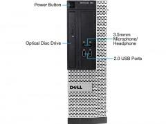 کیس دست دوم Dell OptiPlex 390 پردازنده Core i5 2400