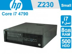 کیس استوک  HP Workstation Z230 پردازنده i7 نسل 4 سایز مینی