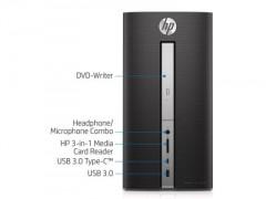 کیس استوک HP Pavilion 570-p023w با پورت USB 3.0-Type-C