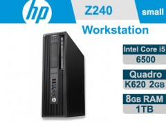 کیس استوک HP Workstation Z240 پردازنده i5 نسل 6 سایز مینی