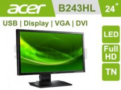 مانیتور استوک Acer B243HL bmdrz سایز 24 اینچ Full HD