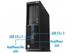 کیس استوک HP Workstation Z230 پردازنده i5 نسل 4 سایز مینی