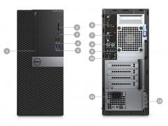 قیمت کیس استوک Dell Optiplex 7040 پردازنده i7 نسل 6 سایز مینی تاور