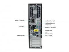 کیس استوک HP Compaq Elite 8300 / 6300 پردازنده i3 نسل 3 سایز مینی