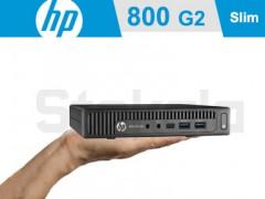 کیس استوک HP Elitedesk 800 G2 پردازنده نسل 6 سایز اولترا مینی