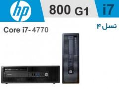 کیس HP Elitedesk 800 G1 استوک - پردازنده i7 نسل4