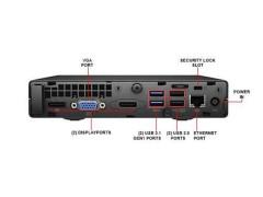 کیس استوک HP EliteDesk 705 G3 پردازنده AMD A10 سایز اولترا مینی