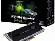 کارت گرافیک nVIDIA مدل Quadro 4000 ظرفیت 2GB