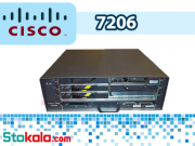 روتر سیسکو Cisco 7206 VXR NPE- G2 Dual Power