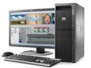 کیس استوک HP Workstation Z600 پردازنده Xeon گرافیک 2GB