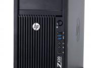کیس استوک HP Workstation Z420 A پردازنده Xeon گرافیک Nvidia