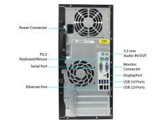 کیس HP 6300 MicroTower سایز بزرگ