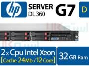 سرور اچ پی G7 DL360 تک یونیت نسل 7