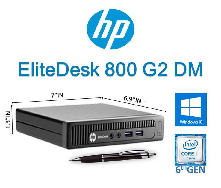 کیس استوک HP Elitedesk 800 G2 نسل شش سایز مینی (قابل کانفیگ)