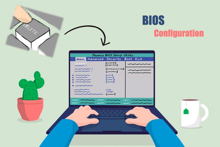 basic input/output system که به اختصار بایوس نامیده می شود
