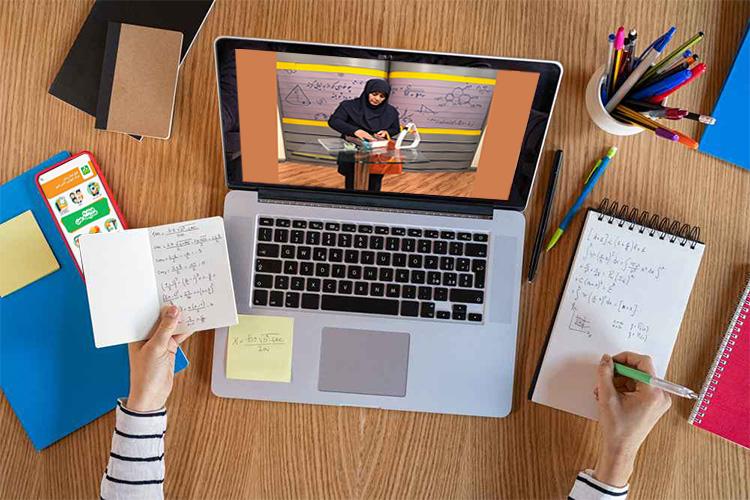 کلاس آنلاین در اپلیکشین شاد