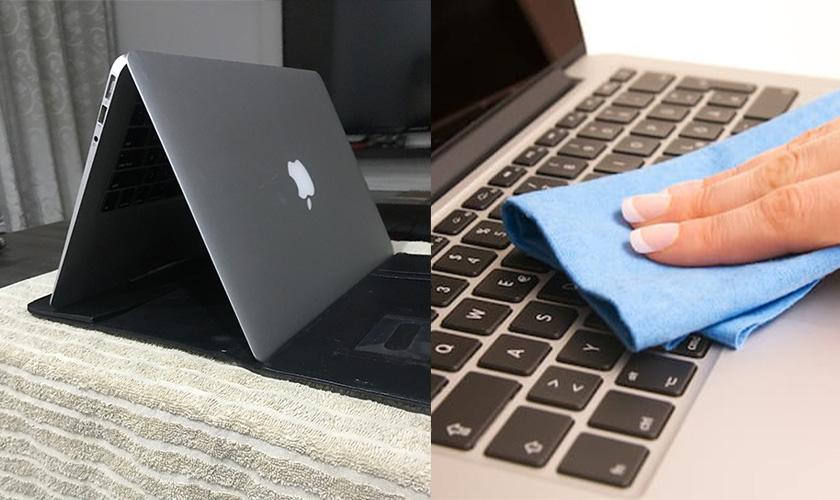 چگونه مایعات را از کیبورد لپ تاپ خارج کنیم