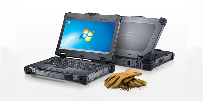 لپ تاپ استوک Dell E6420 XFR مناسب محیط های صنعتی