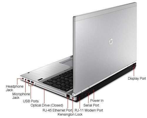 بررسی و خرید لپ تاپ استوک HP EliteBook 8560p - پردازنده i7 2760QM - رم 8GB - هارد 500GB - گرافیک 1 گیگابایت AMD Radeon - نمایشگر 15.6 اینچ با کیفیت تصویر HD Plus - دارای پورت Display ، VGA ، Serial ، Dock ، FireWire - باتری 6 سلولی - حسگر نور محیط