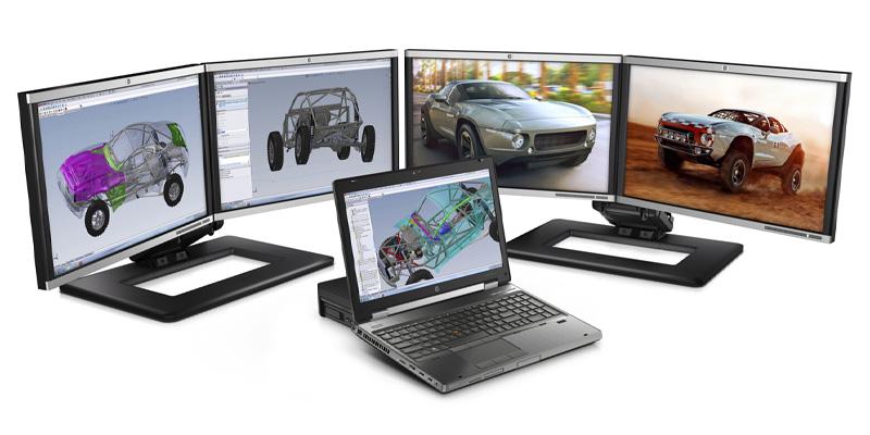 لپ تاپ استوک HP EliteBook Workstation 8560w - پردازنده i7 2820QM - گرافیک NVIDIA Quadro 2000M - نمایشگر 15.6 FHD دارای پورت Display ، ExpressCard، VGA ،eSATA باتری 8سلولی
