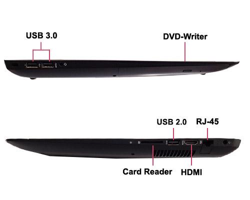 لپ تاپ گیمینگ گرافیک دار OMEN by HP 17 با پردازنده i5 6300HQ رم 16GB هارد 1TB گرافیک NVIDIA GeForce GTX 960M 2 GB نمایشگر 17.3 اینچ FHD دارای پورت USB 3.0 ، HDMI باتری 6سلولی