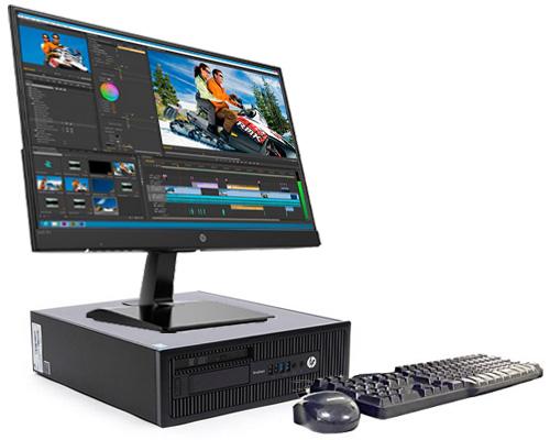 کیس استوک HP Elitedesk 600/800 G1 با پردازنده i5 نسل 4 ، رم 4GB، هارد 500GB، گرافیک مجزا nNvidia Geforce ، مناسب کارهای مهندسی ، طراحی ، اتوکد و 3DMAx است