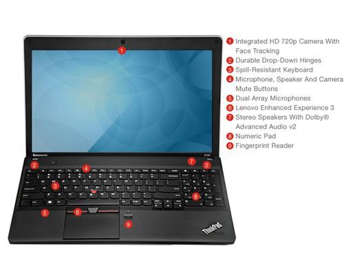 بررسی و خرید لپ تاپ استوک Lenovo ThinkPad Edge E530 - پردازنده i3 3110M - رم 4GB - هارد 500GB - نمایشگر 15.6 اینچ با کیفیت تصویر HD - دارای پورت HDMI ، VGA - باتری 6 سلولی