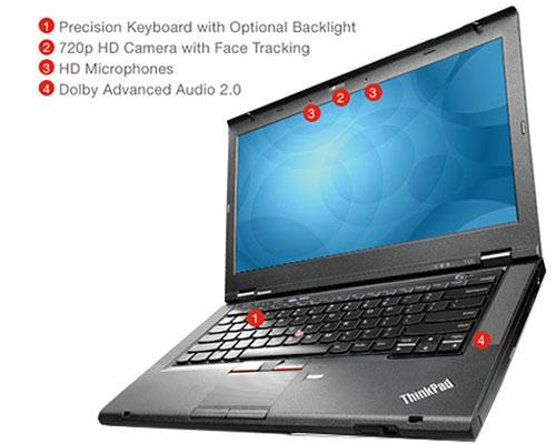 لپ تاپ استوک گرافیک دار Lenovo ThinkPad T430 پردازنده i5 3360M گرافیک NVIDIA NVS 5400M 2GB - نمایشگر 14 اینچ - دارای پورت VGA ، Mini Display ، ExpressCard - باتری 9 سلولی