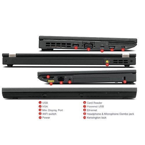 لپ تاپ استوک Lenovo Thinkpad X230 با پردازنده i5 3320M ، رم 4GB، هارد 500GB، نمایشگر 12.5 اینچ با کیفیت HD دارای پورت Mini DisplayPort ، VGA ، Dock و باتری 6سلولی است