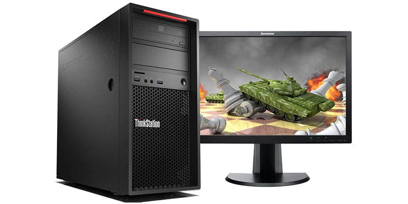 بررسی و خرید کیس استوک Lenovo ThinkStation P310 سایز مینی تاور - پردازنده i7 نسل 6 - 4هسته - 8رشته - کش 8MB - رم 16GB - هارد 1TB دارای پورت VGA ، Display ، Serial