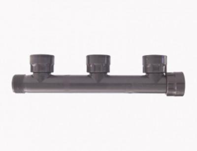 مانیفلد یک اینچ سه خروجی PVC ساخت رین ایتالیا